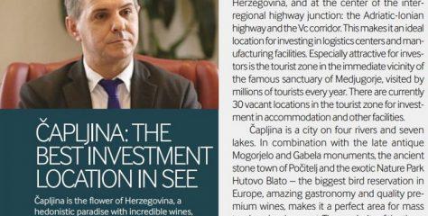 Financial Times: Hercegovina u vrhu svjetskih turističkih destinacija, Čapljina 'El Dorado' za investicije