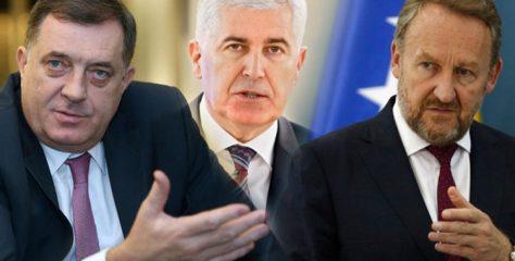 BRUXELLES NA TELEFONU S PLEMENSKIM VOĐAMA Razgovor sa Dodikom, Izetbegovićem i Čovićem – u EU opet zabrinuti