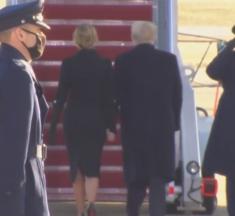 """Trump je otišao iz Bijele kuće: """"Vratit ćemo se u nekom obliku"""""""